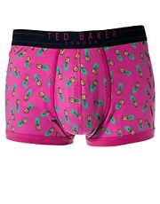 Ted Baker &ndash; Herrenslip mit Ananasdruck