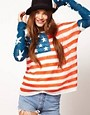 Image 1 ofWildfox 4th of July Long Sleeved Jumper