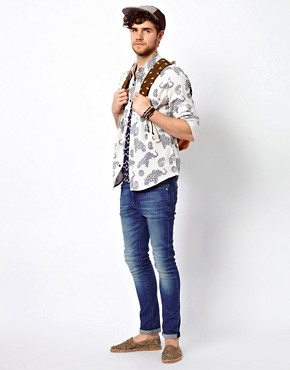 Image 4 ofASOS Shirt With Elephant Print