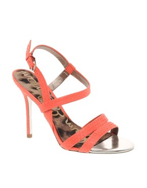 Image 1 ofSam Edelman Abbott Neon Strappy Sandals