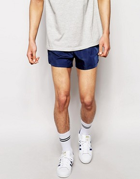 ASOS Woven Shorts In Super Short Length