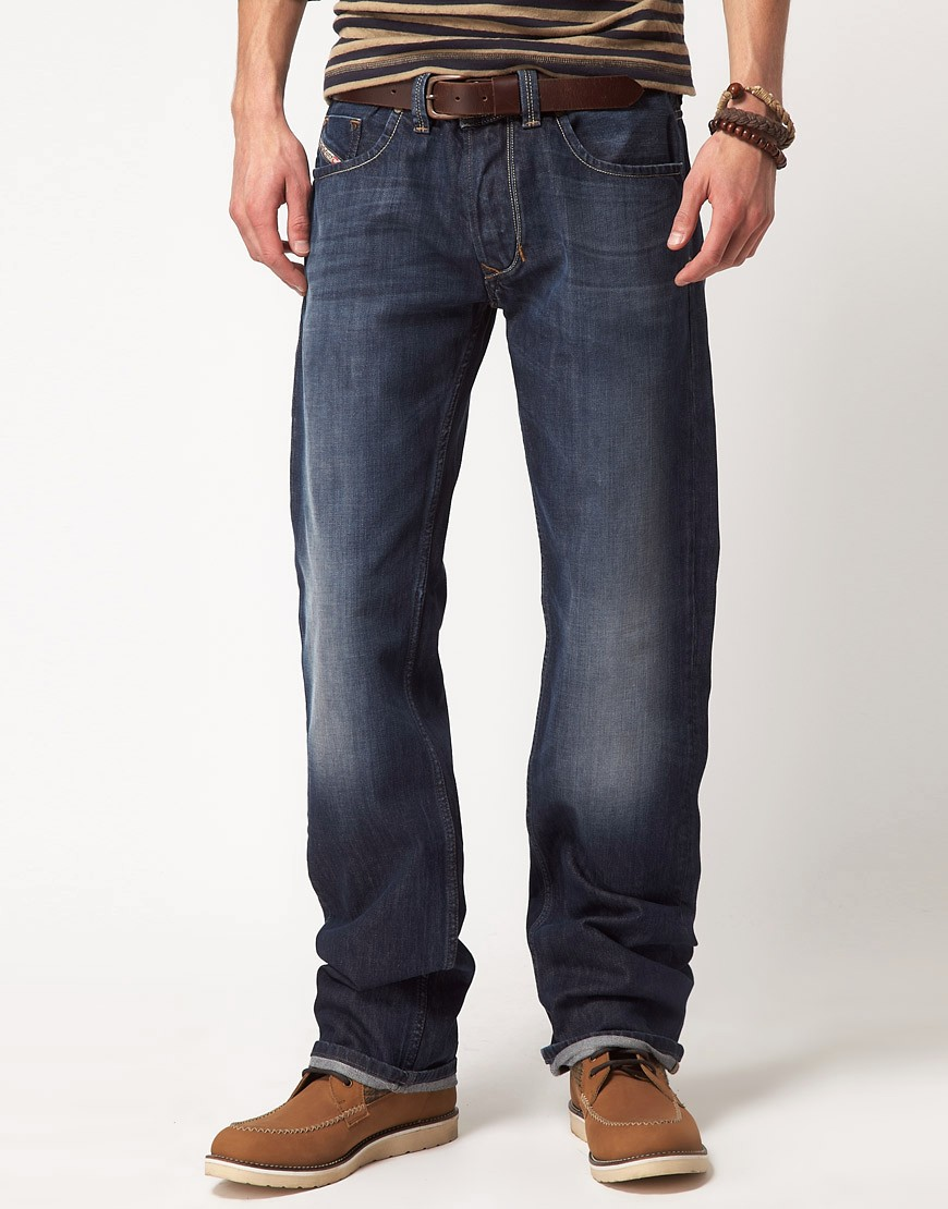 Image 1 of Diesel Larkee 801Z Regular Straight Jeans