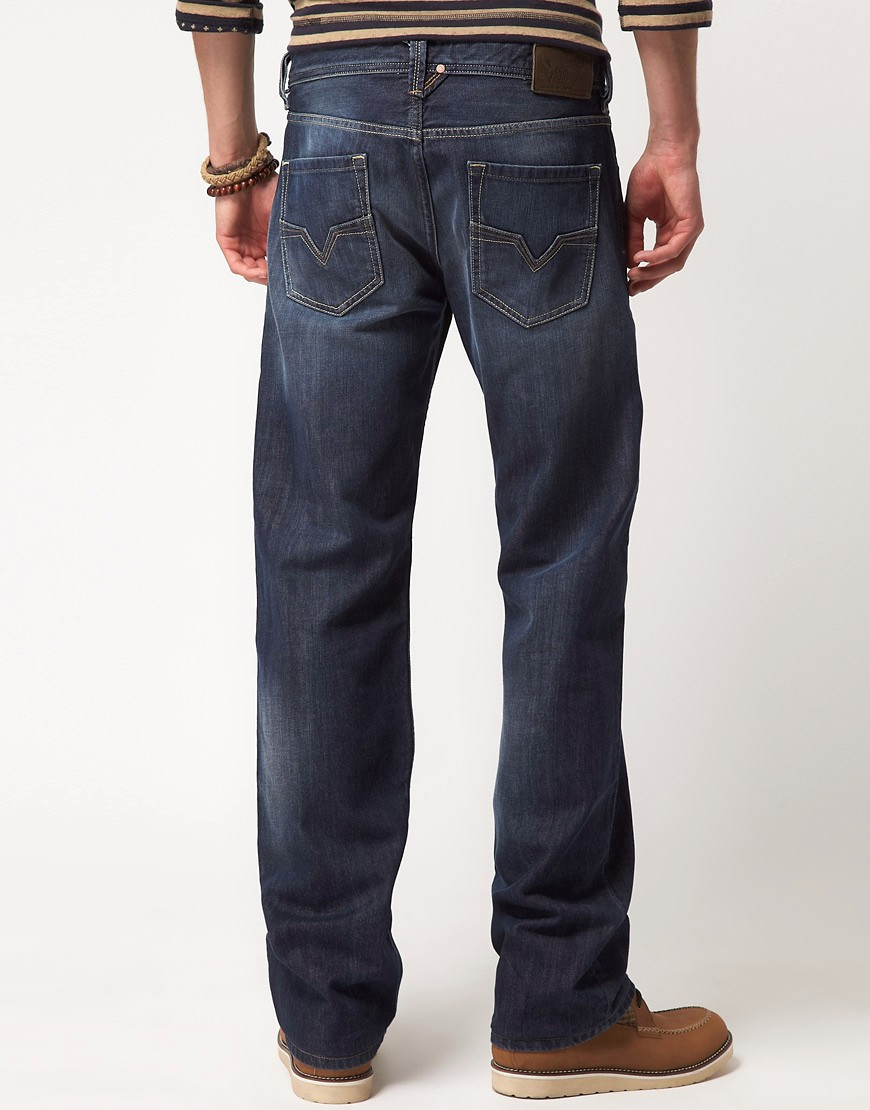 Image 2 of Diesel Larkee 801Z Regular Straight Jeans