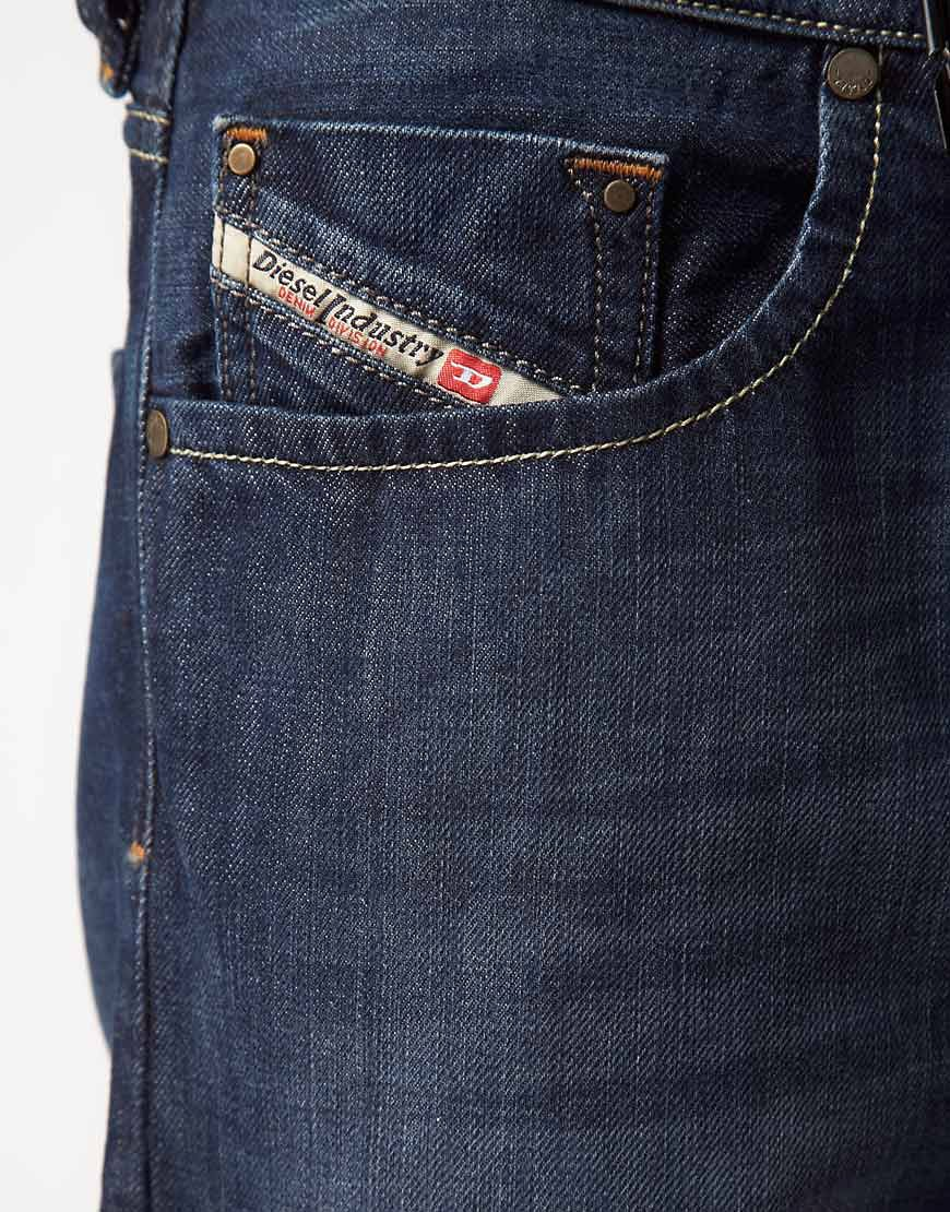 Image 3 of Diesel Larkee 801Z Regular Straight Jeans