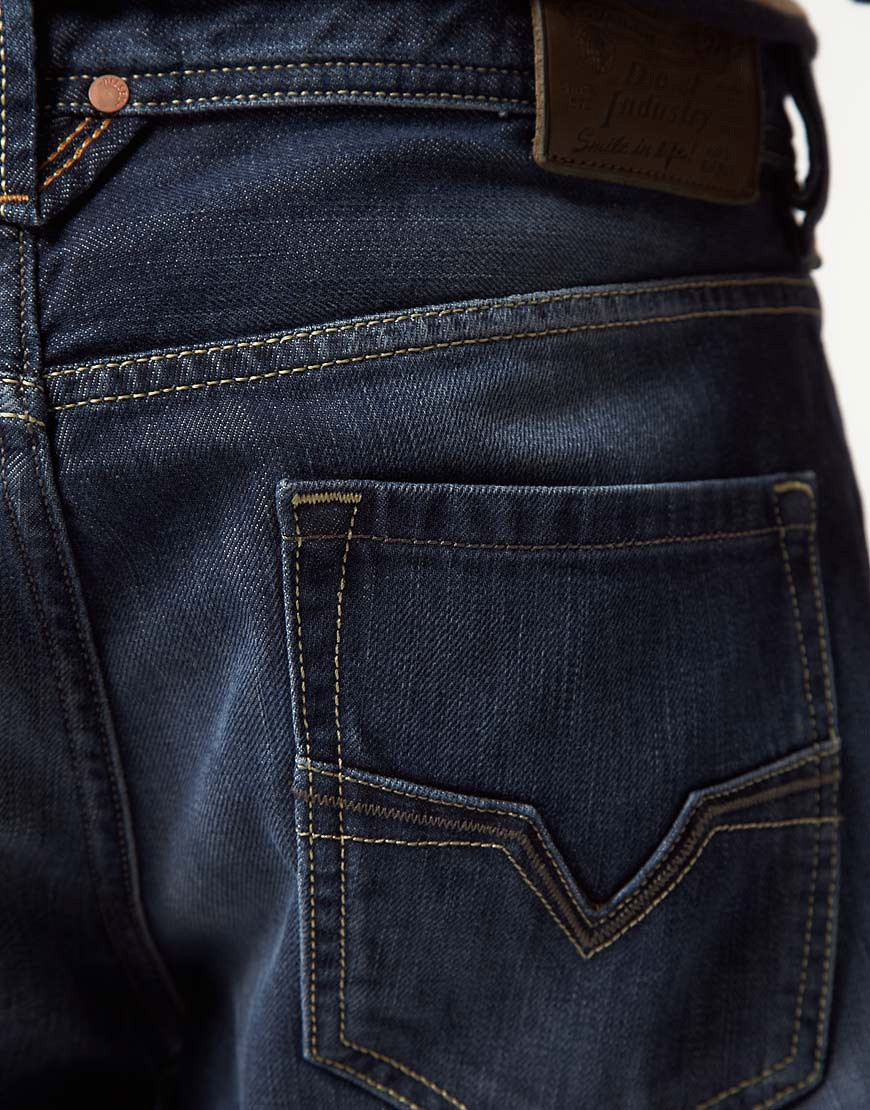 Image 4 of Diesel Larkee 801Z Regular Straight Jeans