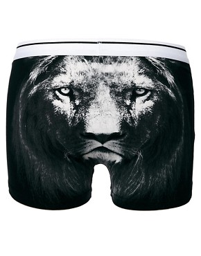 ASOS Trunks With Lion Print