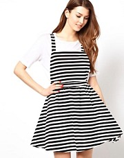 Club L Pinafore Dress