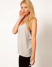 ASOS Vest with Dropped Armhole in Neppy