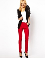 ASOS Skinny Trousers in Cotton Twill