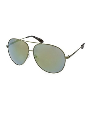 Image 1 of Marc By Marc Jacobs Oversize Aviator Sunglasses