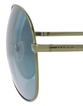 Image 4 of Marc By Marc Jacobs Oversize Aviator Sunglasses