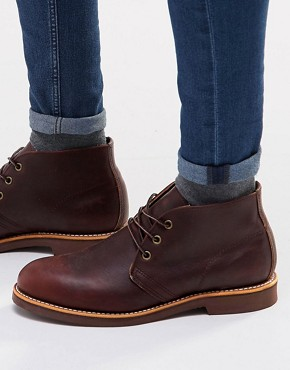 Red Wing Foreman Leather Chukka Boots