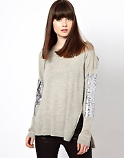 Markus Lupfer Sleeved Armour Jumper