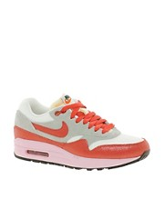 Nike Air Max 1 ND Grey/White/Red Trainers