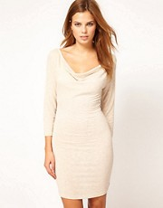 Vero Moda Drape Jersey Dress