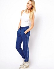 ASOS Sweatpants in Denim Effect