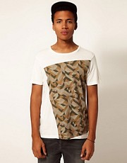 Boxfresh T-Shirt Digi Camo Print Larvall