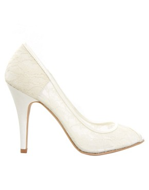 Image 4 ofNew Look Veil Lace Court Shoes