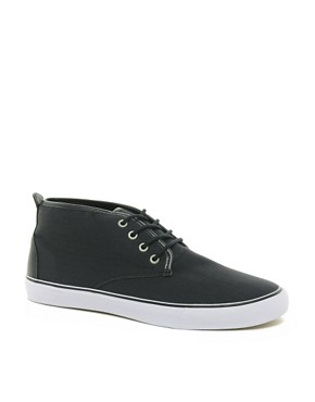 Image 1 ofASOS Chukka Boots in Canvas