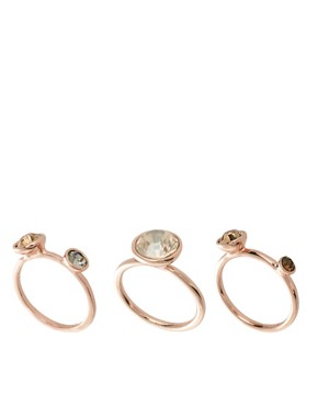 Image 1 ofTed Baker Stacking Ring Set