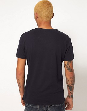 Image 2 ofReplay T-Shirt With V Neck