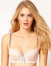 Elle Macpherson Intimates - Dentelle - Reggiseno con stampa maculata e coppe sagomate