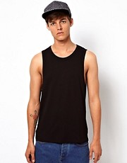 ASOS Vest With Bound Edge