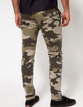 Image 2 ofASOS Skinny Chino In Camo
