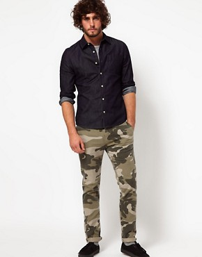 Image 4 ofASOS Skinny Chino In Camo