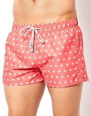 Oiler & Boiler Mini Stars Shortie Swim Shorts