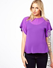 ASOS Maternity Blouse With Drape Back