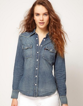 Image 1 ofLevi&#39;s Denim Shirt