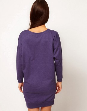 Image 2 ofPeople Tree Organic Cotton Sweatshirt Dress
