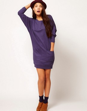 Image 4 ofPeople Tree Organic Cotton Sweatshirt Dress