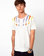 ASOS T-Shirt With Yoke Print