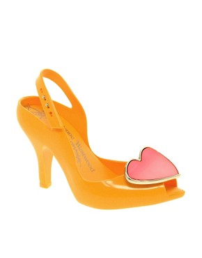 Image 1 ofVivienne Westwood for Melissa Lady Dragon VIII Heeled Sandals