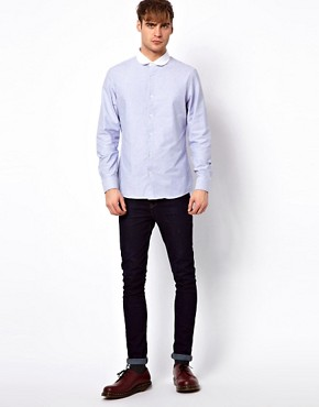 Image 4 of River Island Shirt with Penny Collar