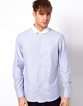 Image 1 of River Island Shirt with Penny Collar