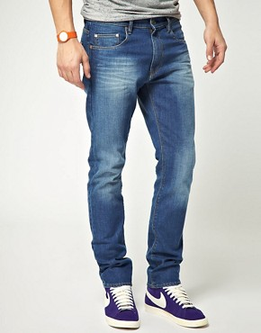 Image 1 of WESC Eddy Slim Fit Jeans