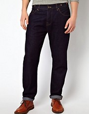 ASOS Retro Jeans With Brace Buttons