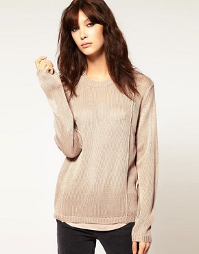 Image 1 ofCheap Monday Fine Gauge Seamed Knit