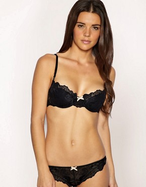 Image 4 ofElle Macpherson Intimates Spree Lace Padded Contour Bra