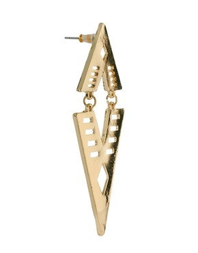 Image 3 ofASOS Articulated Arrow Earring