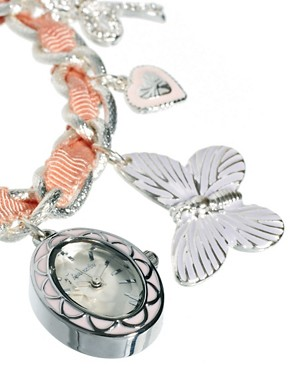 Image 4 ofAccessorize Watch Charm Bracelet With Butterfly Charms