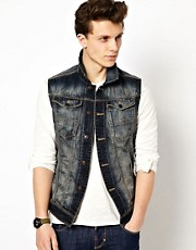 Antony Morato Sleeveless Denim Jacket
