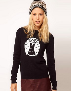 Image 1 ofASOS Owl Jumper