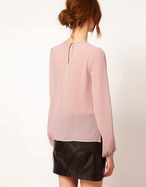 Image 2 ofWarehouse Lace Shell Top