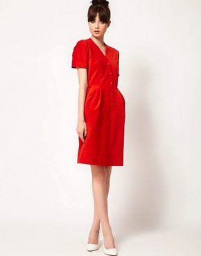 Image 4 ofPeter Jensen Corduroy Dress