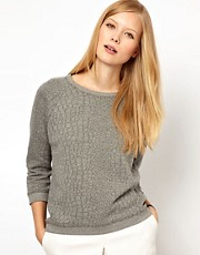Whistles Coco Quilted Sweat