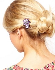 Limited Edition Flower Hair Brooch